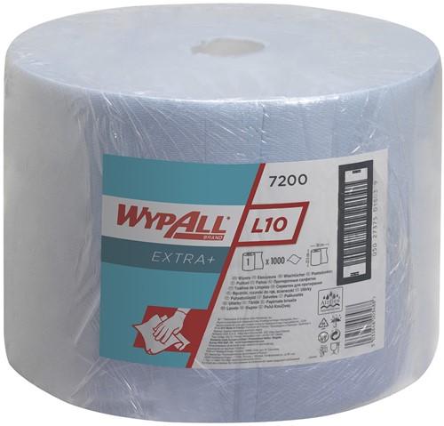 Wypall L10 Extra+ Poetsdoek Grote rol 7200