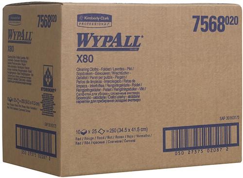Wypall X80 Poetsdoeken 7568