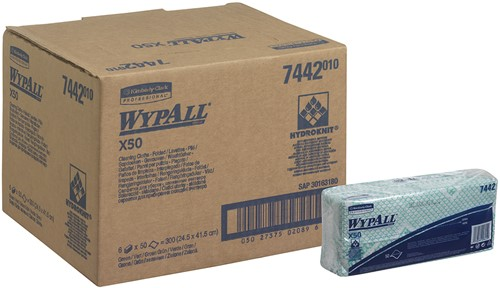 Wypall X50 Poetsdoeken 7442
