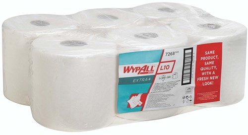 Wypall L10 Extra+ Poetsdoek Centerfeed 7268