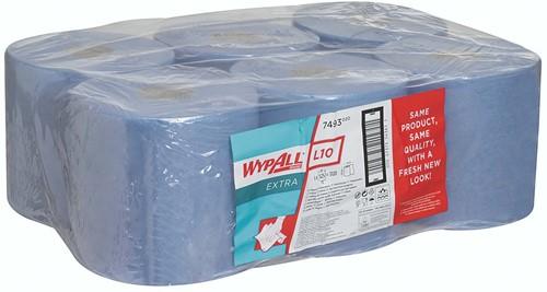 Wypall L10 Extra Poetsdoek Centerfeed Roll 7493