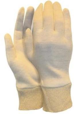 Interlock handschoen, herenmaat met manchet (325 grams)
