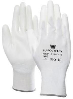 PU/polyester handschoen