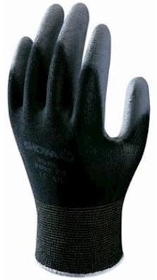 Showa B0500 Palm Fit handschoen zwart - m