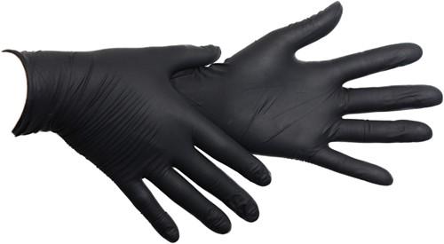 Zwarte Nitril Handschoenen