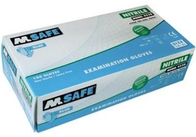 M-Safe 4530 disposable nitril handschoen - 7/s