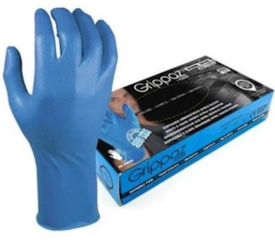 M-Safe 306BL Nitril Grippaz handschoen - s
