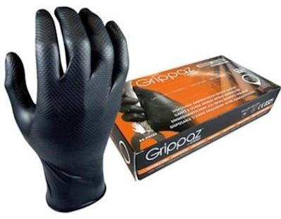 M-Safe 246BK Nitril Grippaz handschoen - s