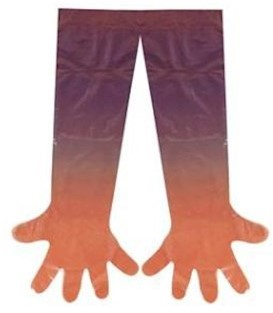 Veterinaire polyethyleen handschoen