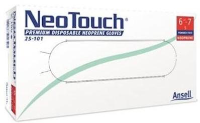 Ansell NeoTouch 25-101 handschoen - 6½-7