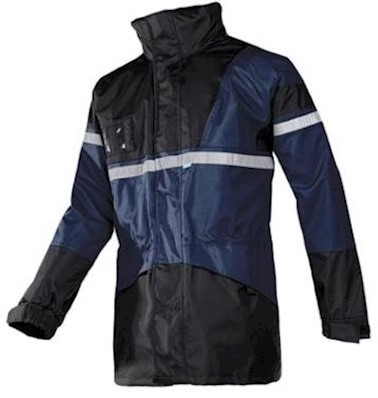 Sioen 288A Cloverfield parka - marineblauw/zwart - xl