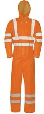 Sioen 6936 Etna overall - fluo oranje - xxl