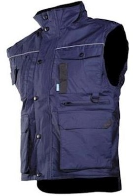 Sioen 087A Bernex bodywarmer - blauw - m