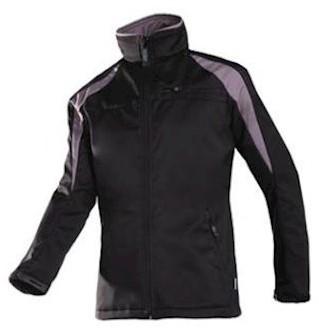 Sioen 9834 Piemonte softshell jas - zwart/grijs - s
