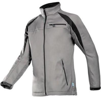 Sioen 9834 Piemonte softshell jas - grijs/zwart - s