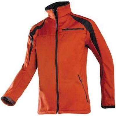 Sioen 9834 Piemonte softshell jas - rood/zwart - m