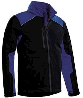 Santino Tour softshell jas - marineblauw/korenblauw - xl