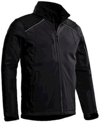 Santino Tour softshell jas - grijs/zwart - m