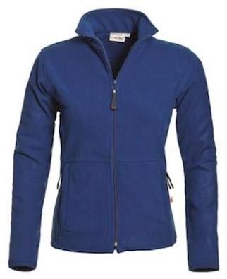 Santino Bormio dames fleece jas - korenblauw - xxl