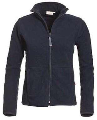 Santino Bormio dames fleece jas - marineblauw - s