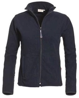 Santino Bormio dames fleece jas - marineblauw - l