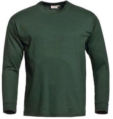Santino James T-shirt - donkergroen - l