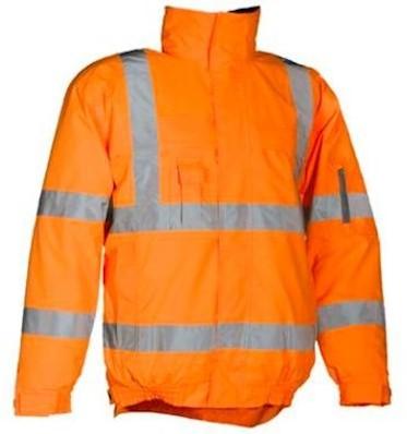 Sioen 404A Hobson jas - fluo oranje - l