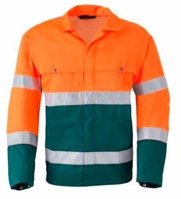 HAVEP 5105 jack - fluo oranje/groen - 56