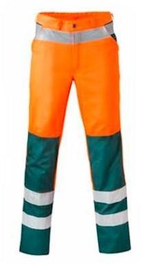 HAVEP 8410 broek - fluo oranje/groen - 64