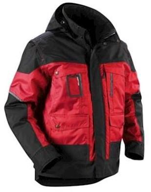 Blåkläder 4886 jas - rood/zwart - xl