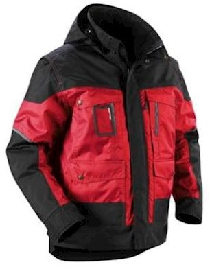 Blåkläder 4886 jas - rood/zwart - xxl