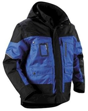 Blåkläder 4886 jas - korenblauw/zwart - m