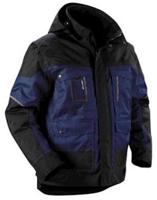 Blåkläder 4886 jas - marineblauw/zwart - s