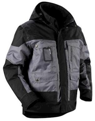 Blåkläder 4886 jas - grijs/zwart - m