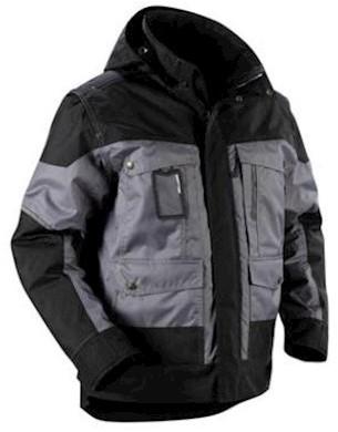 Blåkläder 4886 jas - grijs/zwart - xxl