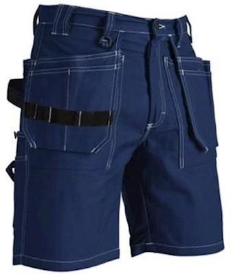 Blåkläder 1534 1370 korte broek - marineblauw - c48