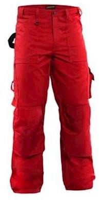 Blåkläder 1570 1860 broek - rood - c62
