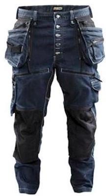 Blåkläder X1900 Baggy Denim Stretch broek