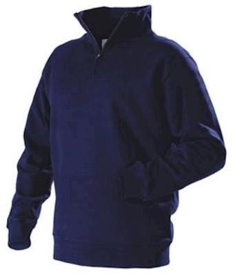 Blåkläder 3365 sweater - marineblauw - xs