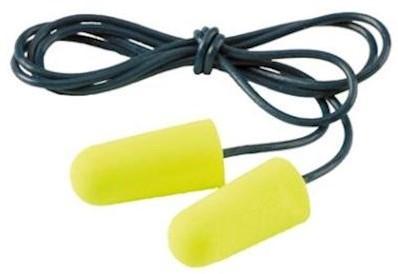 3M E-A-R Soft Yellow Neons oordop met koordje