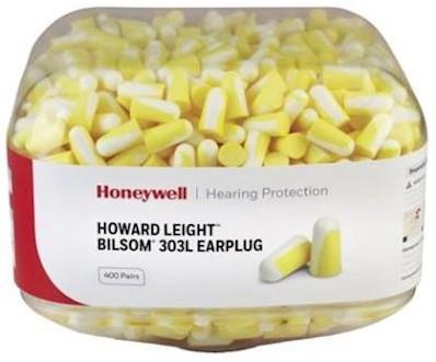 Howard Leight Bilsom 303L oordoppen navulling à 400 paar in canister