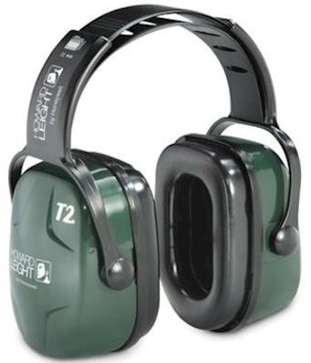 Howard Leight Thunder T2s gehoorkap met hoofdband