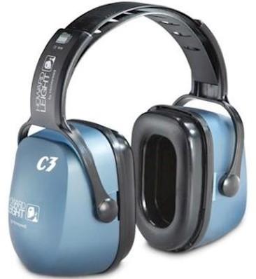 Howard Leight Clarity C3 gehoorkap met hoofdband
