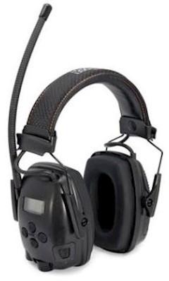 Howard Leight Sync Electo gehoorkap met hoofdband