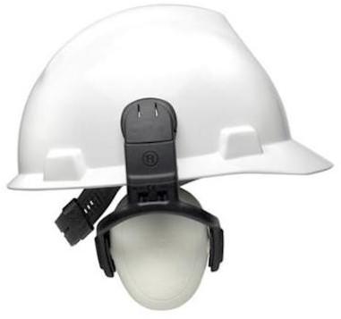 MSA left/RIGHT LOW gehoorkap met helmbevestiging