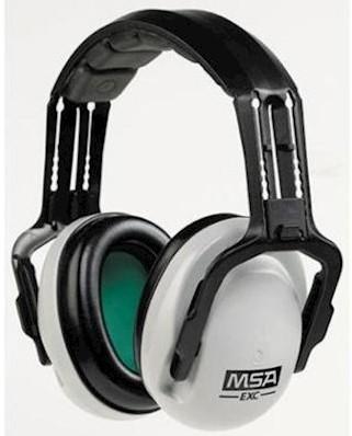 MSA EXC gehoorkap met hoofdband