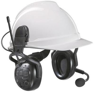 MSA left/RIGHT Wireless World Dual gehoorkap met helmbevestiging