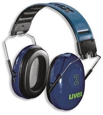 uvex 2 2500-001 gehoorkap met hoofdband