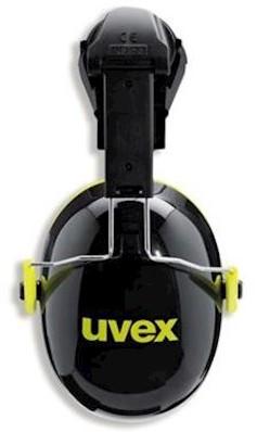 uvex K2 2600-202 gehoorkap met helmbevestiging