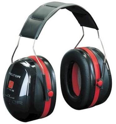 3M Peltor Optime III H540A gehoorkap met hoofdband